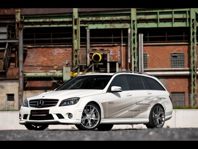 AMG static Edo Competition Mercedes-Benz C 63 wallpaper