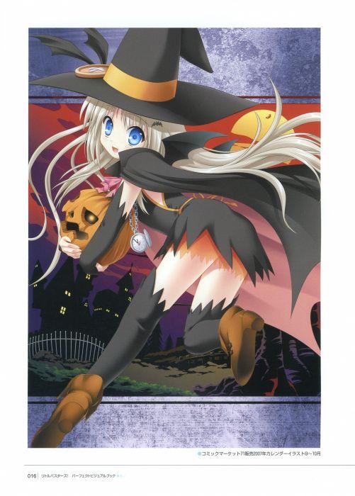 little visual novels artbook anime Little Busters! anime girls wallpaper