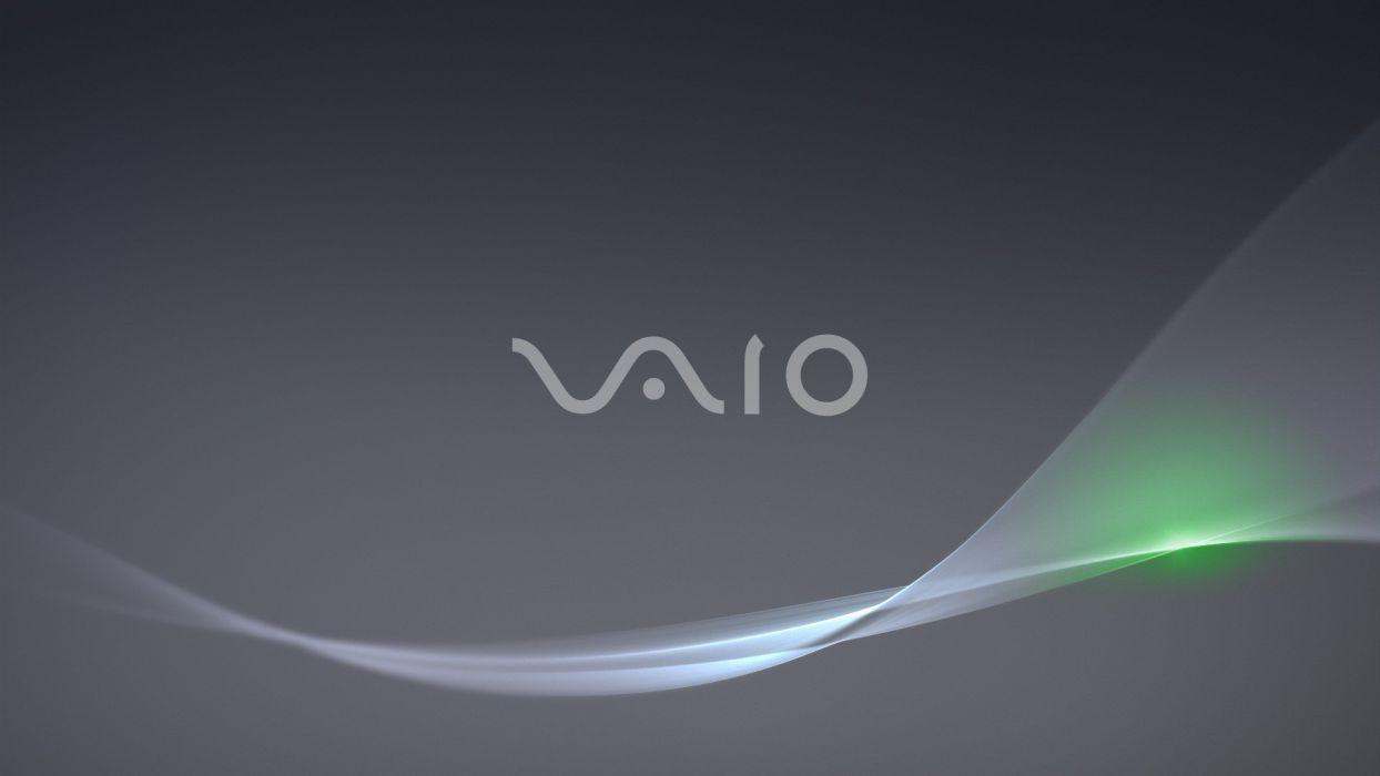technology logos Sony VAIO wallpaper