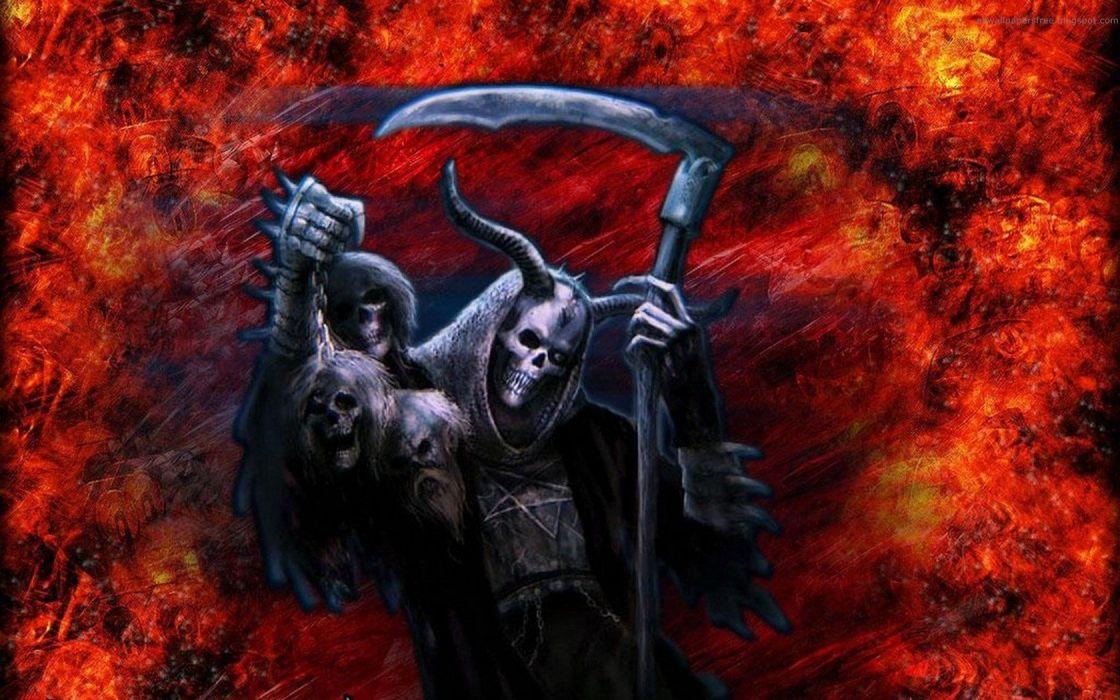 grim reapers Skeletonwitch wallpaper