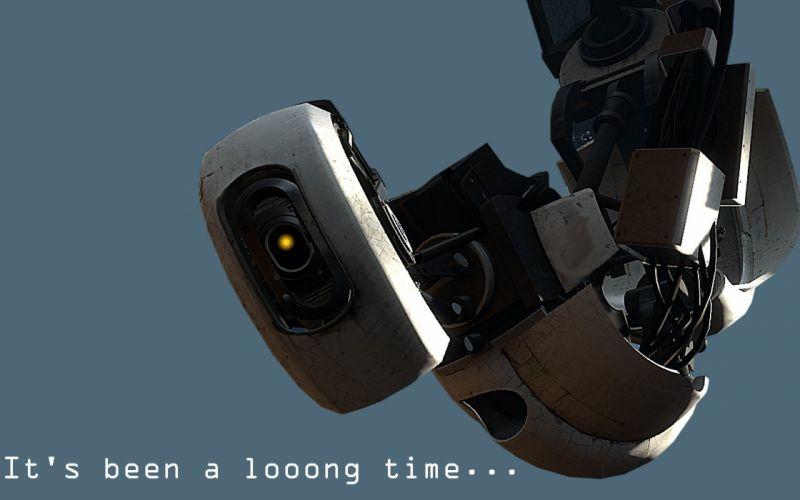 GLaDOS Portal 2 wallpaper