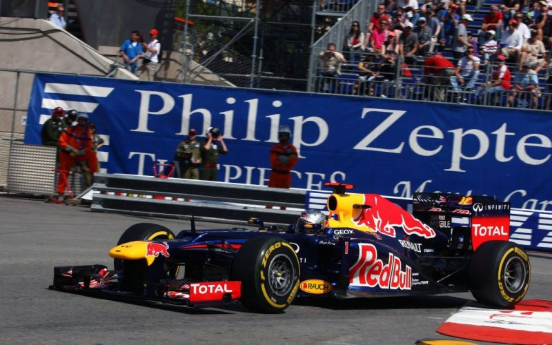circuits Formula One racing Sebastian Vettel Red Bull Racing Monte Carlo wallpaper