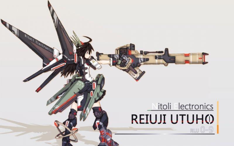 video games Touhou Reiuji Utsuho wallpaper