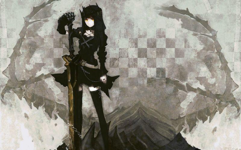 Black Rock Shooter Dragon Slayer wallpaper