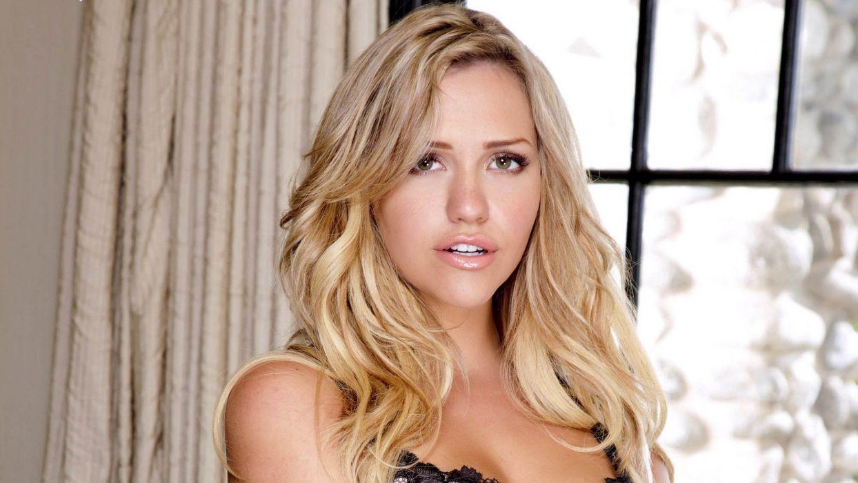 blondes women models Mia Malkova wallpaper