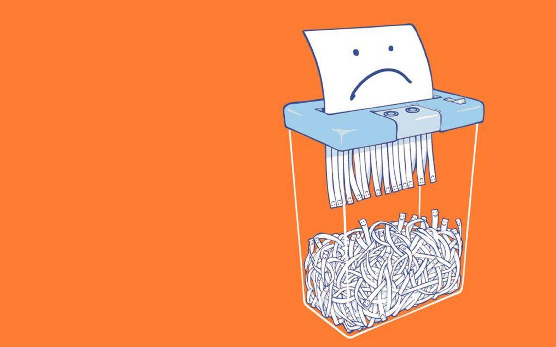 shredder (paper destruction) wallpaper
