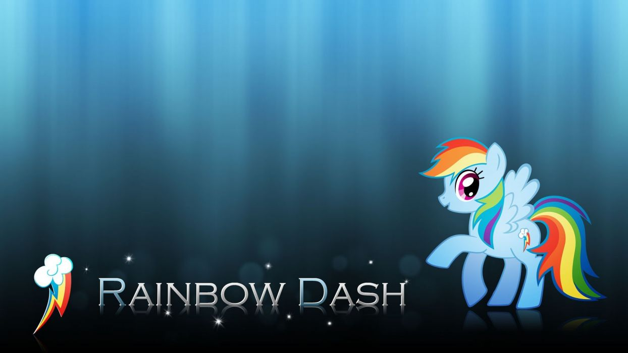 My Little Pony ponies Rainbow Dash My Little Pony: Friendship is Magic wallpaper