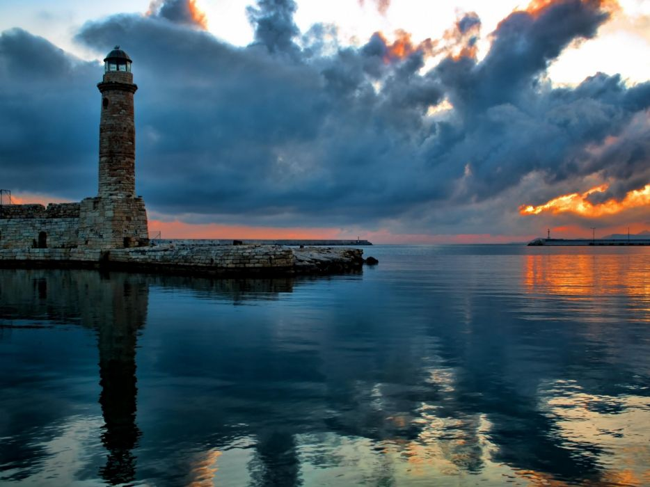 ocean nature Greece colors wallpaper