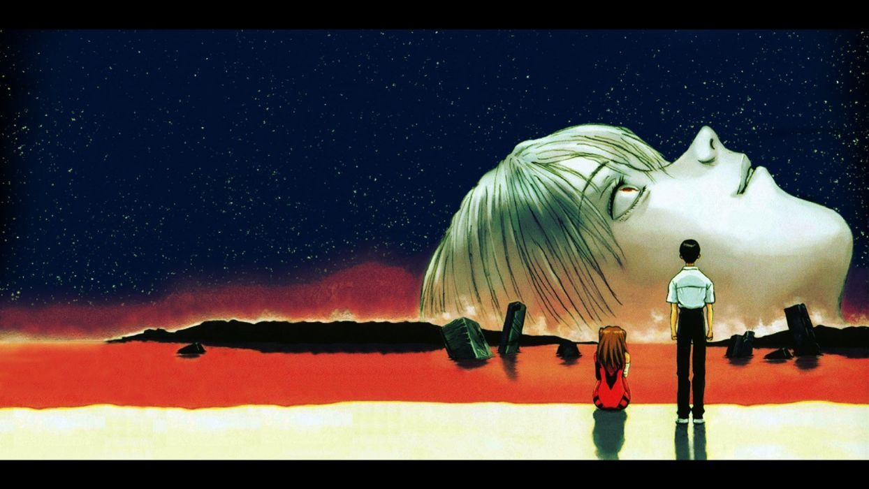 Neon Genesis Evangelion End Of Wallpaper