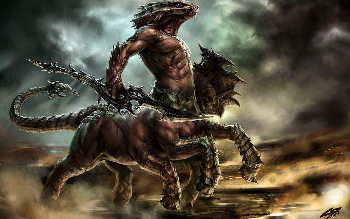 monsters fantasy art muscular artwork Being Human dark cloud wallpaper