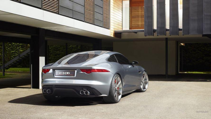 cars Jaguar C-X16 Concept wallpaper