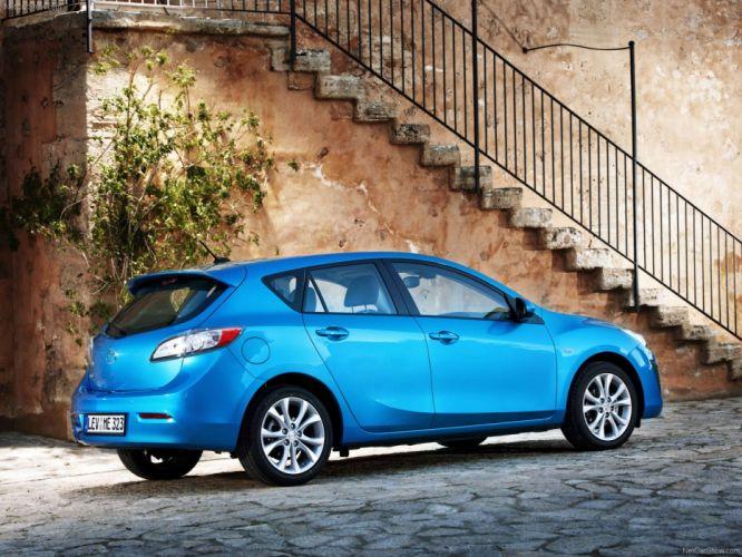 blue cars Mazda wallpaper