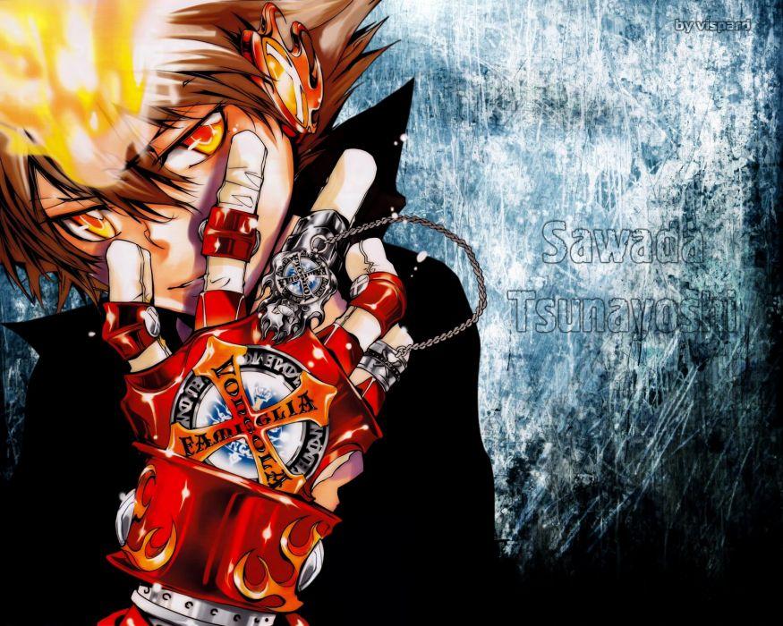 Katekyo Hitman Reborn Sawada Tsunayoshi wallpaper
