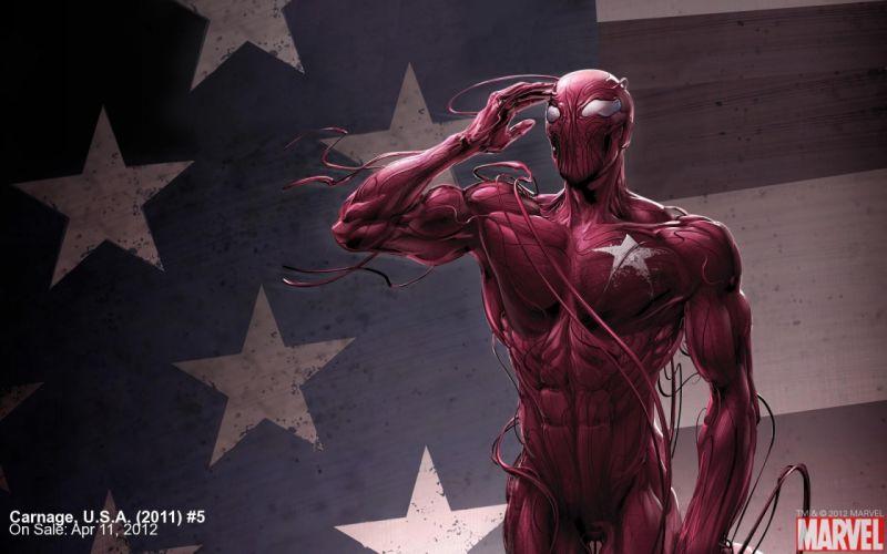 Carnage Marvel Comics widescreen wallpaper