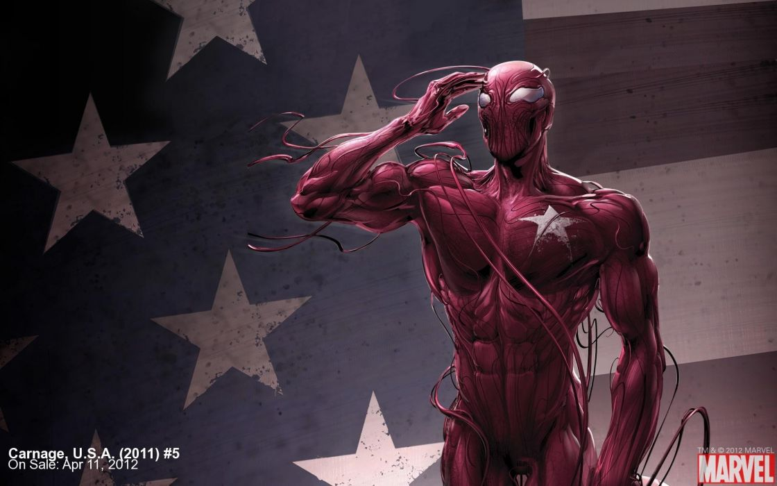 Carnage Marvel Comics widescreen wallpaper