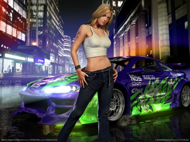 video games Need for Speed Need for Speed Underground games wallpaper