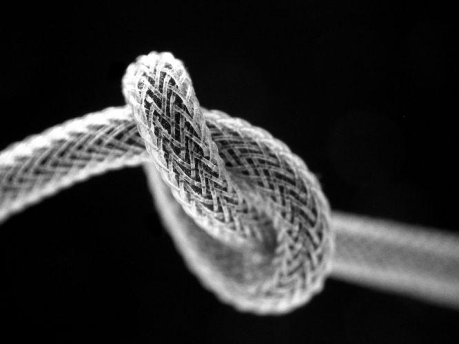 macro knot ropes wallpaper