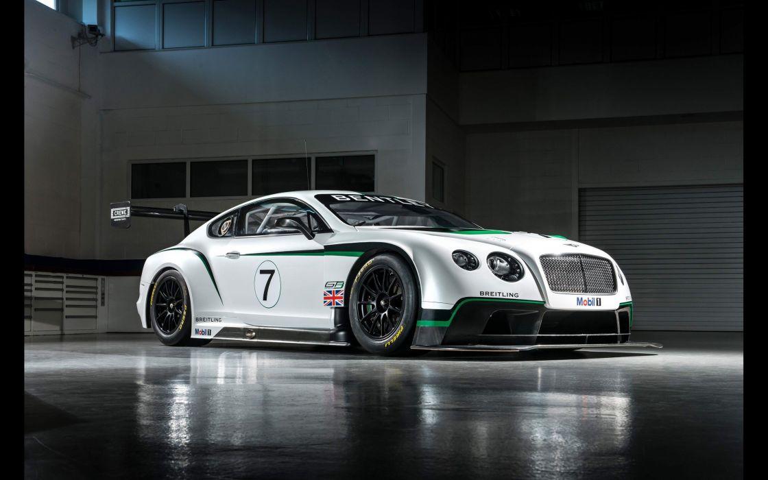 cars static Bentley Continental bentley continental gt3 wallpaper