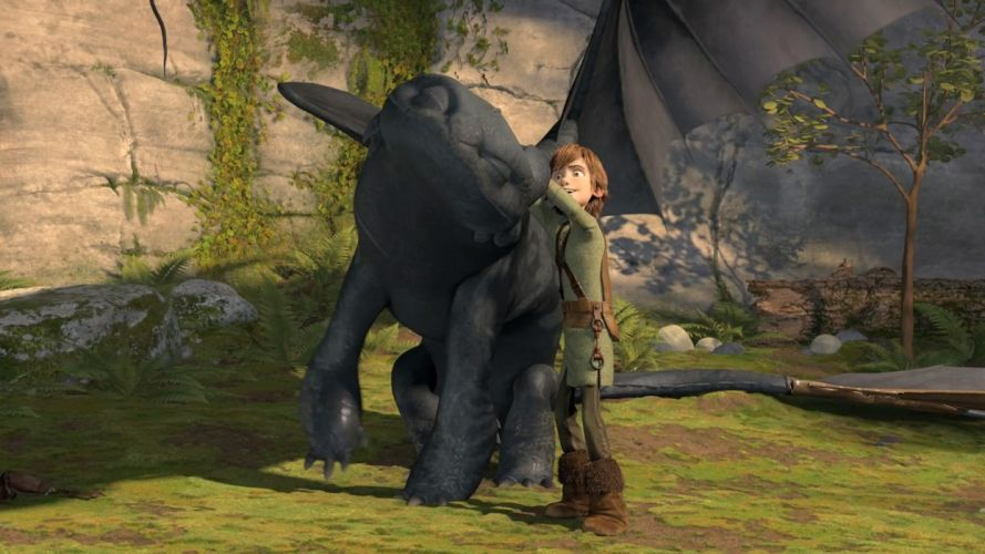 toothless How to Train Your Dragon Hiccup wallpaper