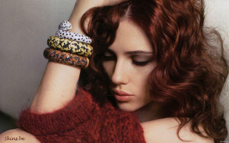 women Scarlett Johansson celebrity wallpaper