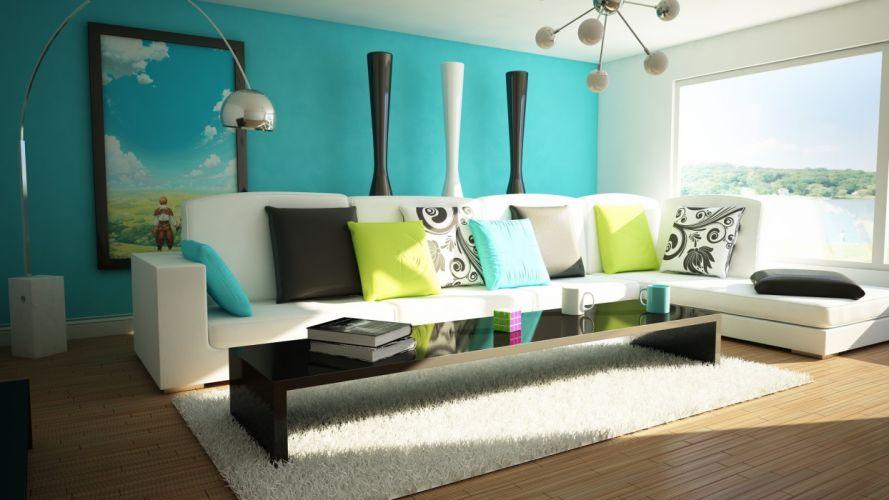 interior design room house home apartment condo (2) wallpaper