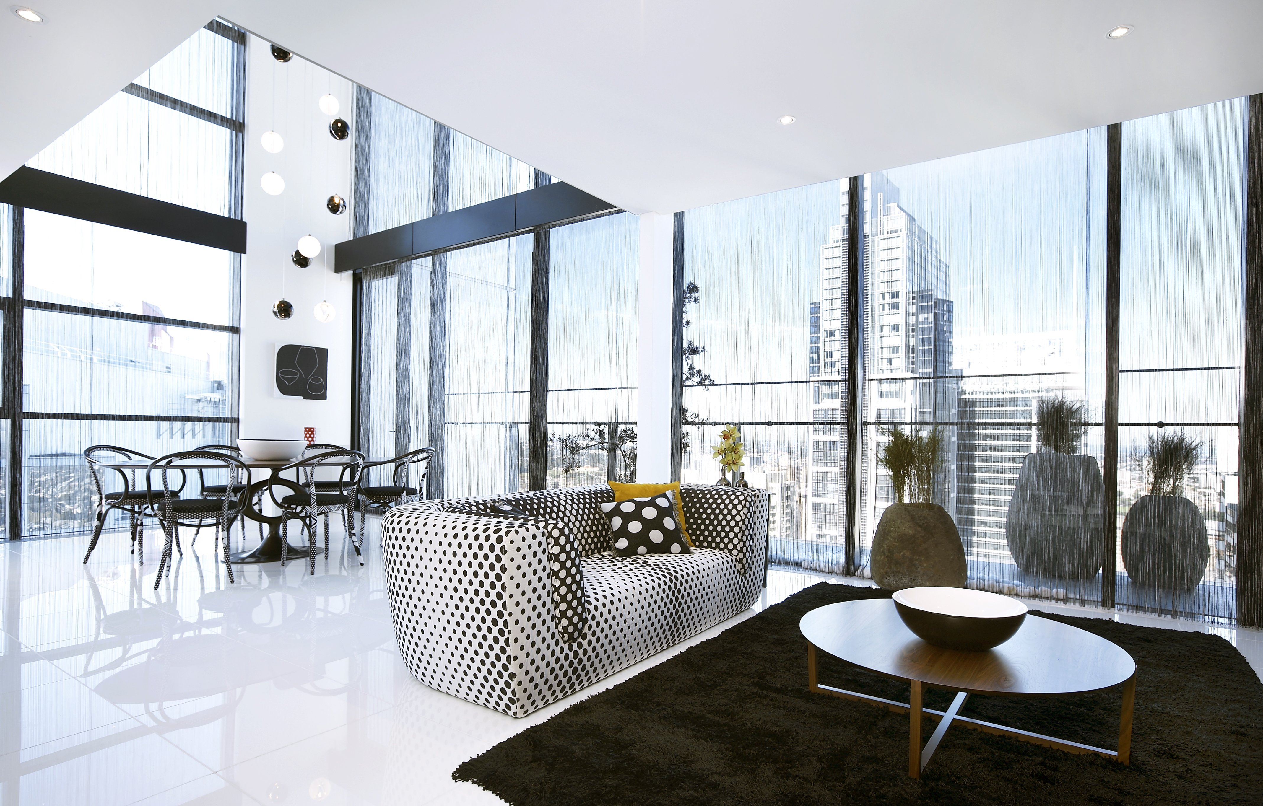 Interior design room house home apartment condo 248 for Salle a manger yannick one cap