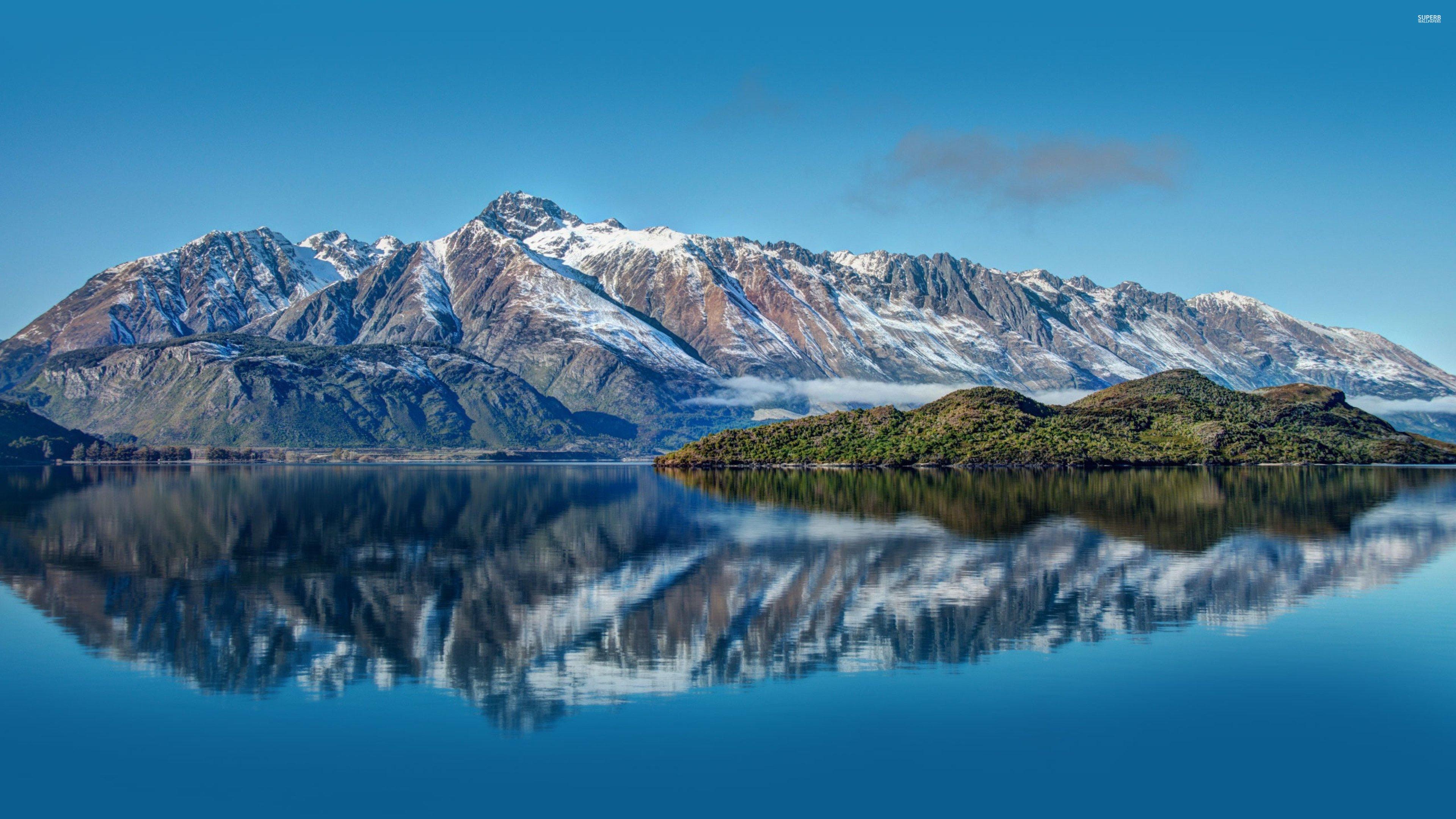 Amoklauf Neuseeland Video Hd: Pyramid-lake-new-zealand-24104-3840x2160 Wallpaper