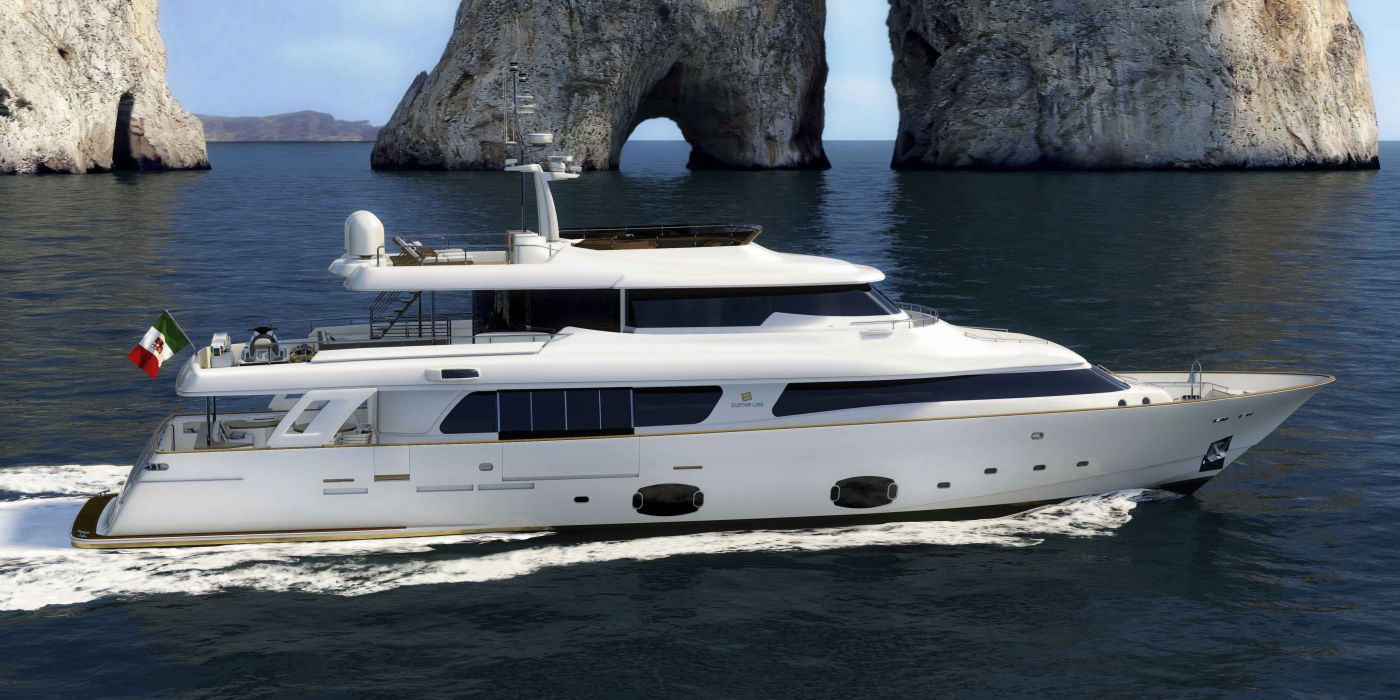 FERRETTI yacht boat ship (26) wallpaper