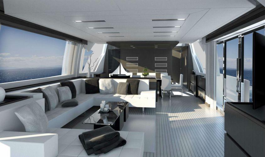 FERRETTI yacht boat ship (36) wallpaper