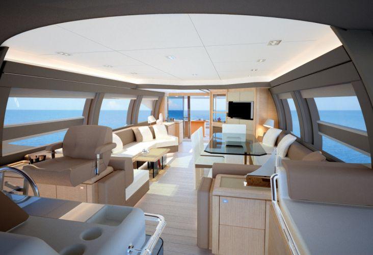 FERRETTI yacht boat ship (44) wallpaper