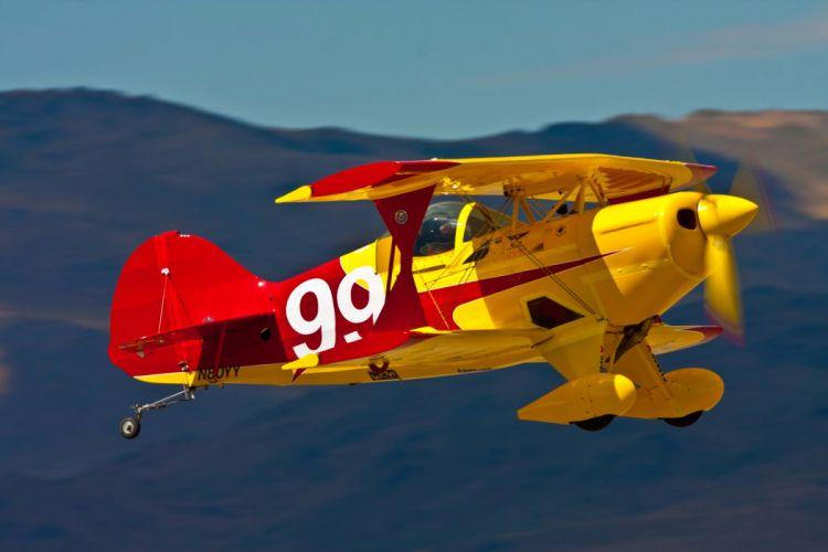biplane airplane plane aircraft race racing wallpaper