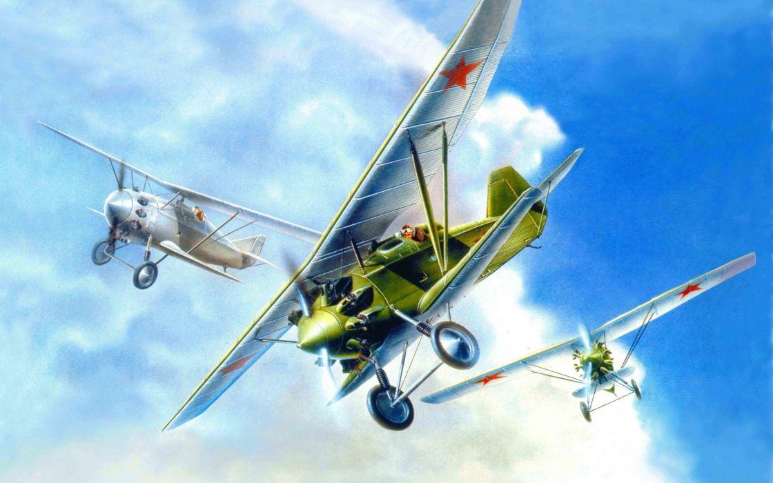 biplane airplane plane aircraft miltary wallpaper