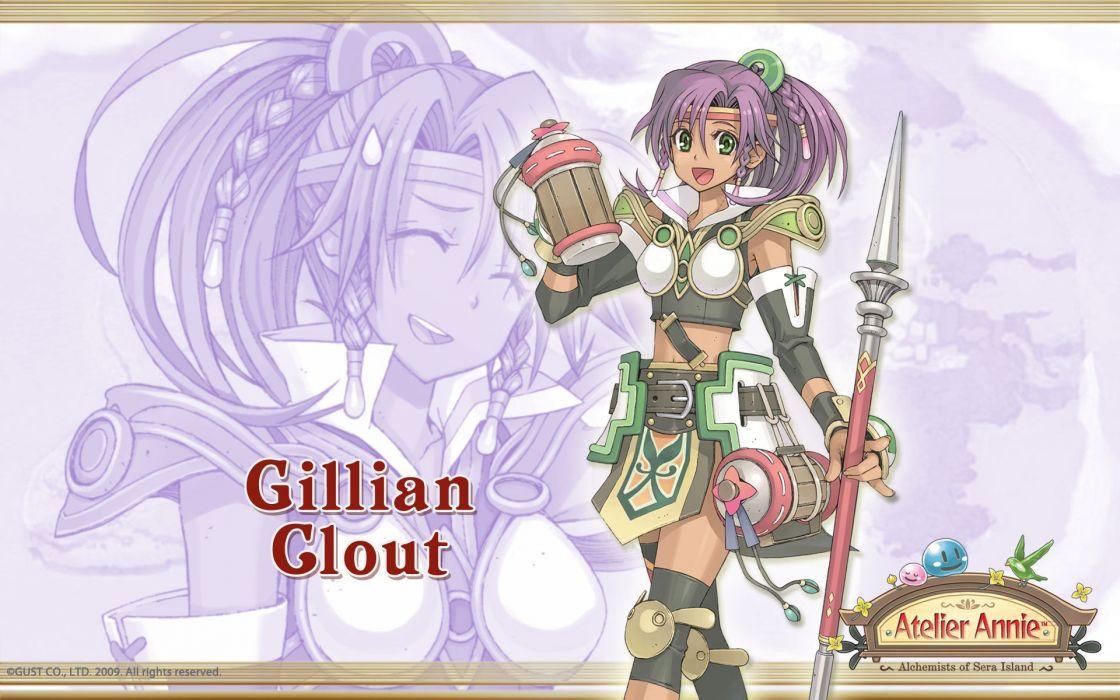 video games Atelier Annie wallpaper