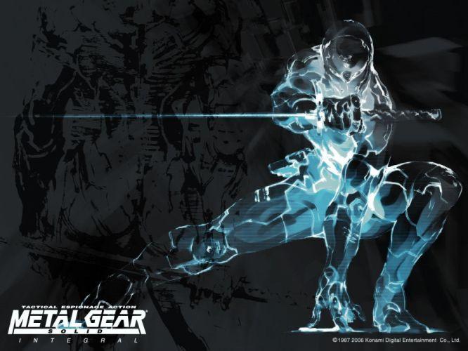ninjas Metal Gear Solid Gray Fox wallpaper