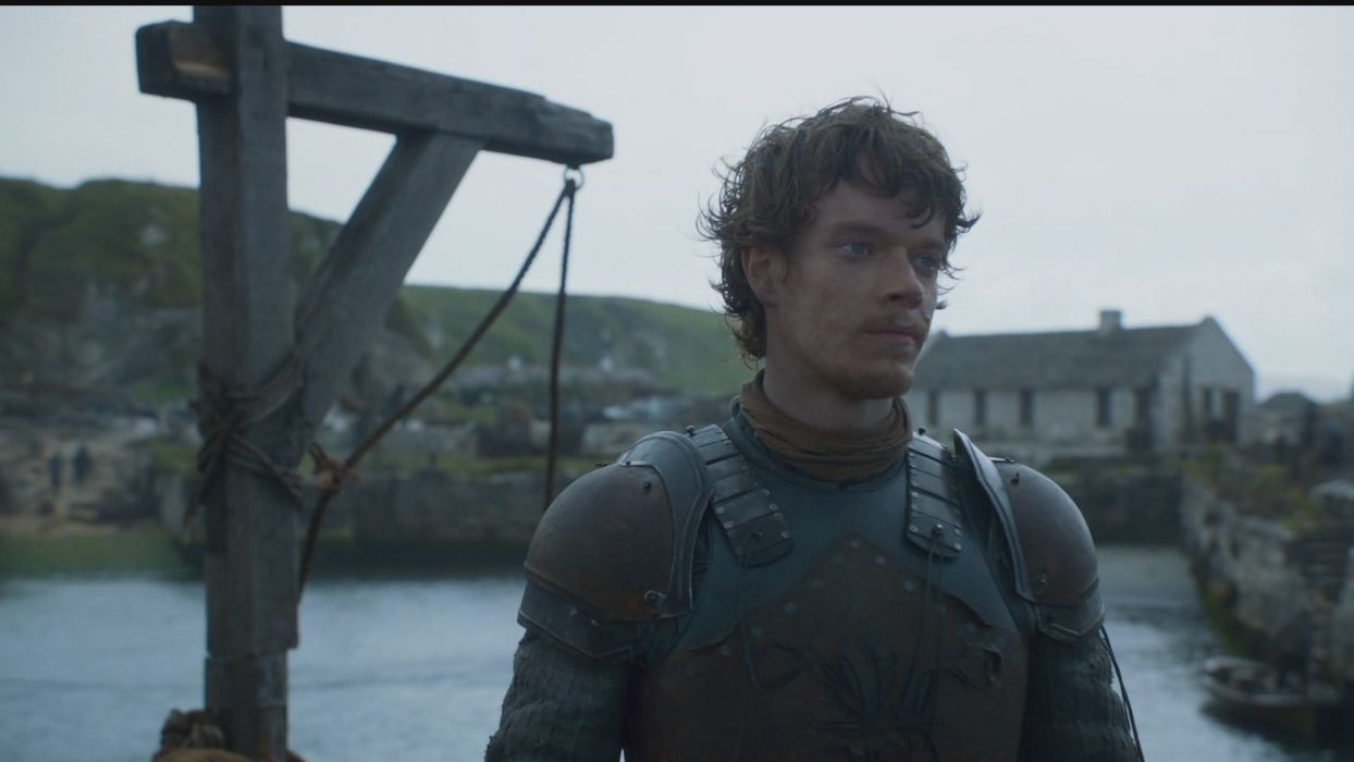 fantasy art Game of Thrones A Song of Ice and Fire TV series HBO Alfie Allen Theon Greyjoy wallpaper