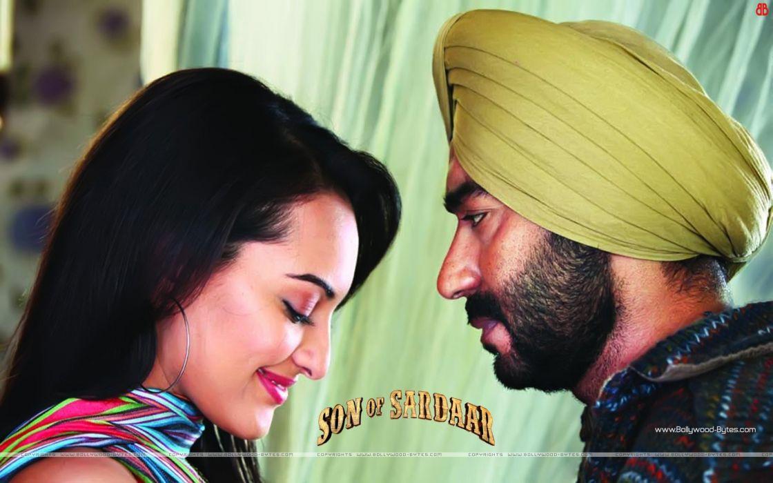 women actress Queen son movie stills Sonakshi Sinha son of sardar stills wallpaper