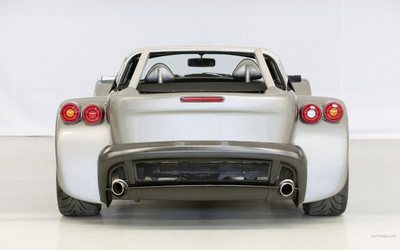 cars Donkervoort rear view cars Donkervoort D8 GTO wallpaper