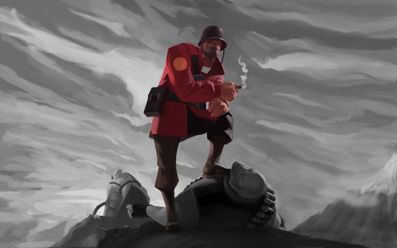 soldiers Team Fortress 2 wallpaper