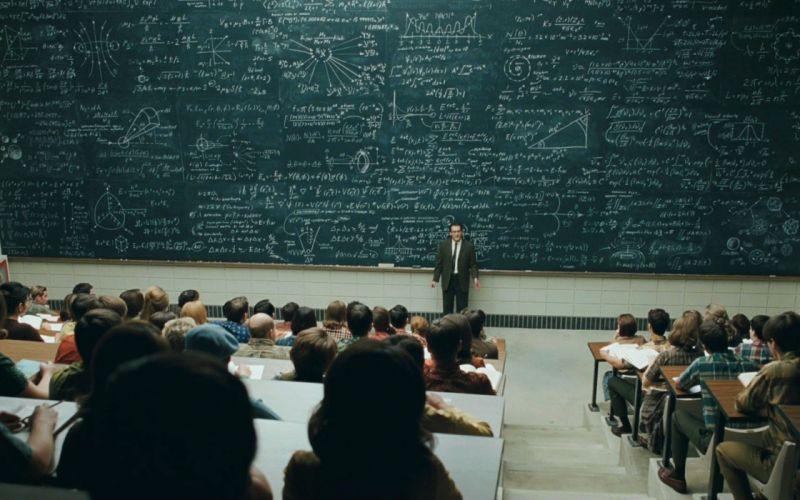 men classroom blackboards mathematics teachers students A Serious Man Michael Stuhlbarg wallpaper