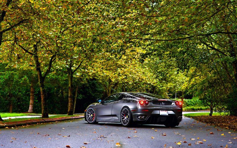 cars roads Ferrari F430 Ferrari F430 Scuderia wallpaper