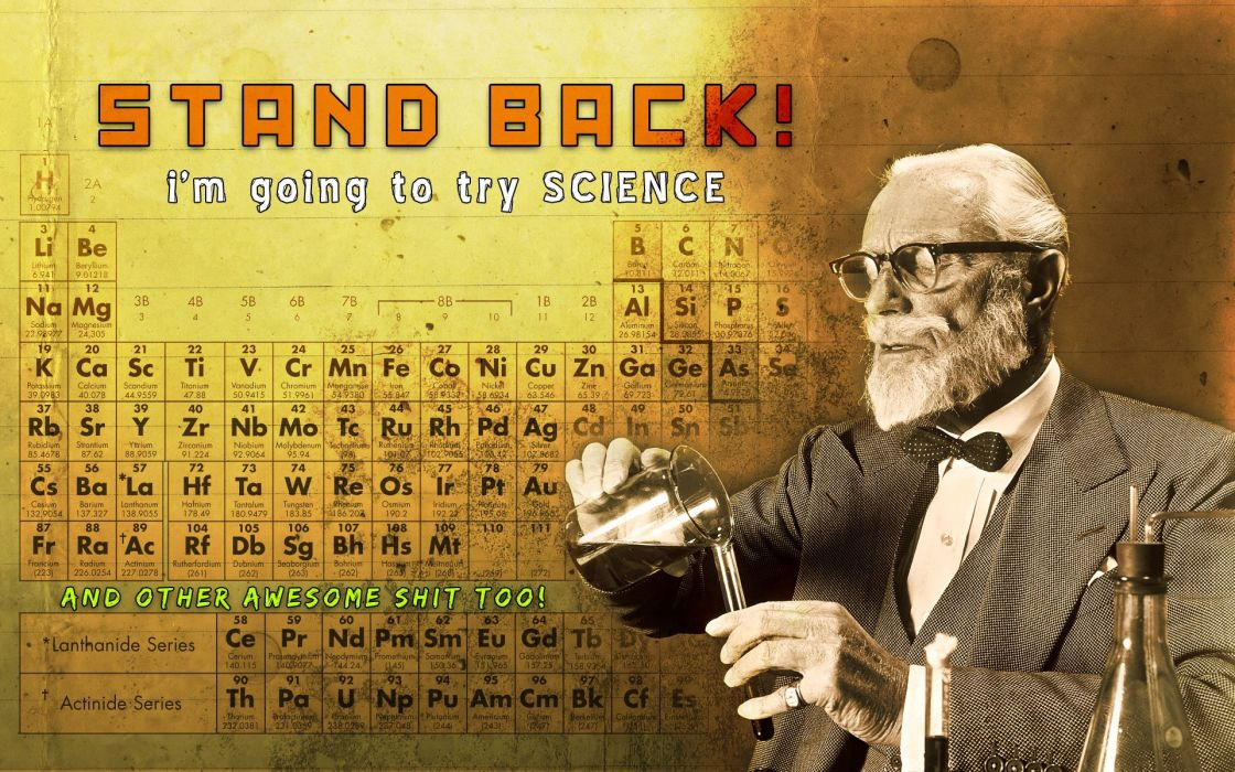 science elements periodic table chemistry wallpaper