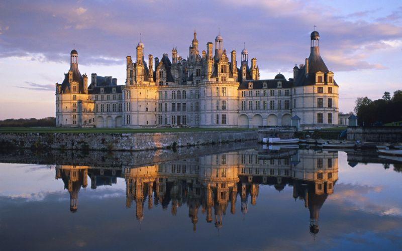 castles France Chambord wallpaper