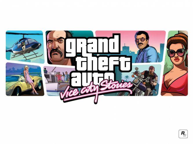 video games Grand Theft Auto Vice City Grand Theft Auto Vice City Stories wallpaper