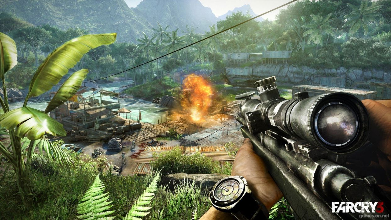 snipers Far Cry 3 wallpaper