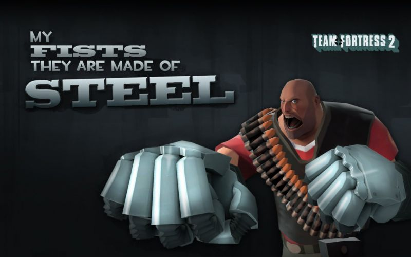 Heavy TF2 Team Fortress 2 wallpaper