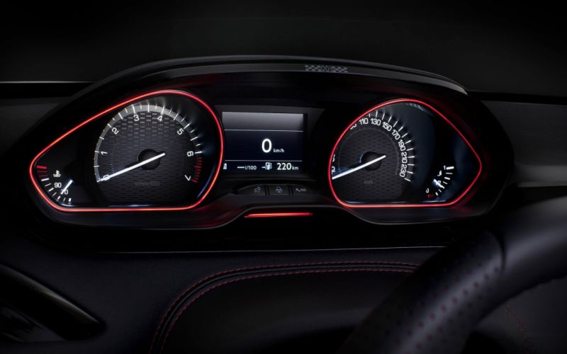 cars supercars tuning dashboards sports cars Peugeot 208 GTI racing cars wallpaper