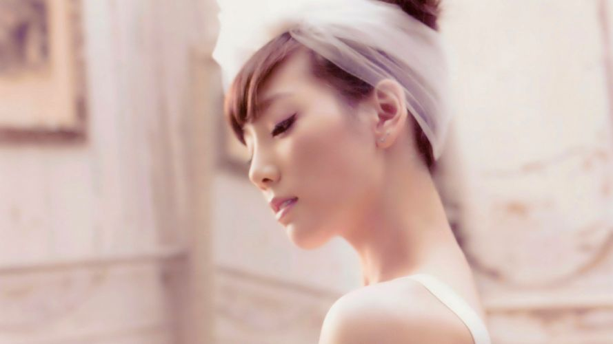 women Girls Generation SNSD Korean Kim Taeyeon wallpaper