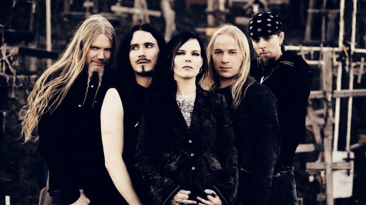 Nightwish music bands Anette Olzon wallpaper