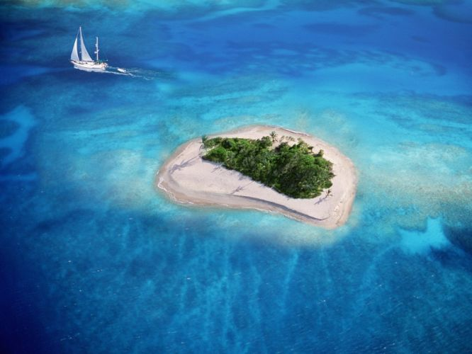 water ocean landscapes trees tropical islands boats Virgin Islands tropical island wallpaper