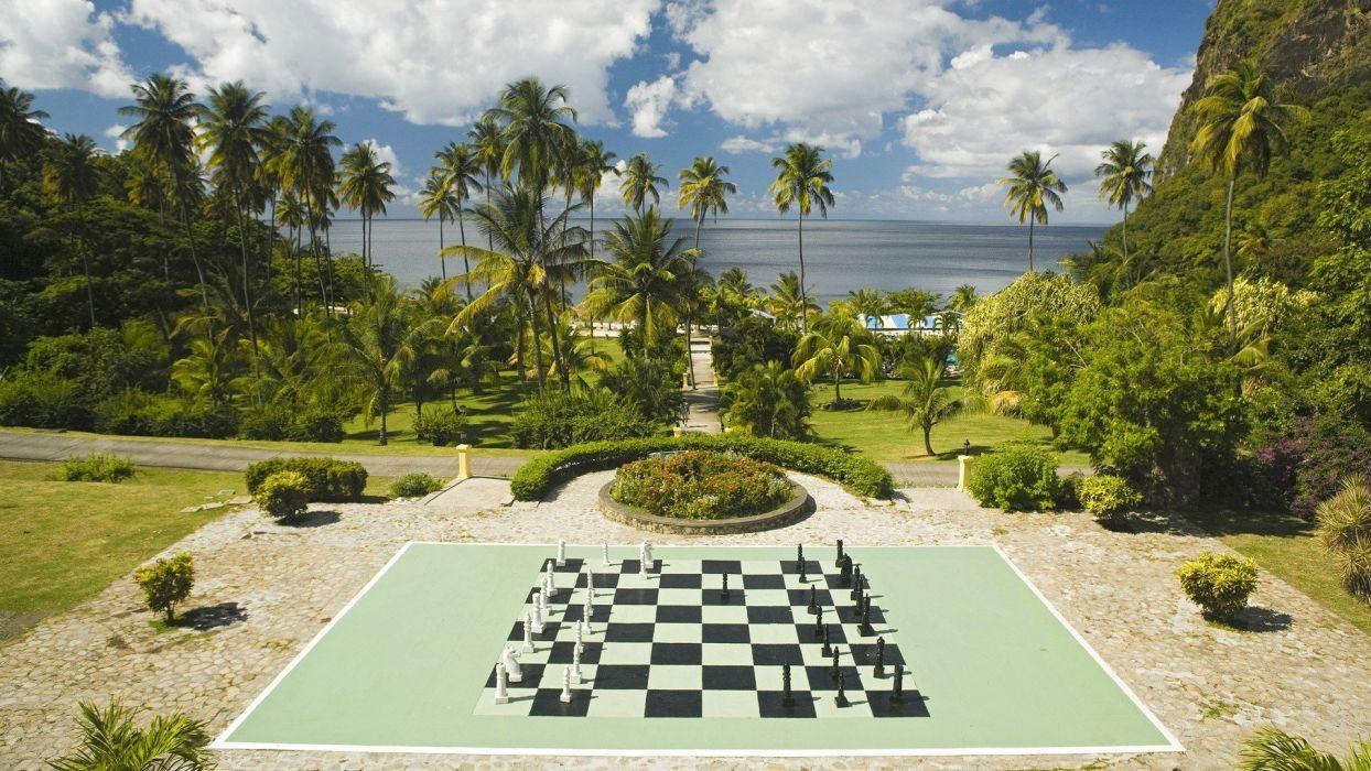 chess plantation saint lucia wallpaper